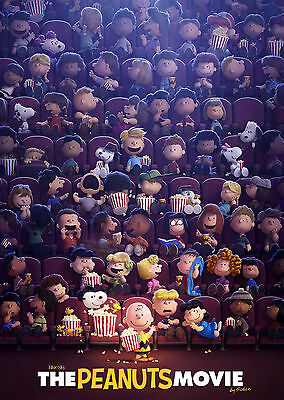 Peanuts (2015) V2 - A1/A2 POSTER **BUY ANY 2 AND GET 1 FREE OFFER**