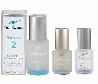 Nailtiques Formula 2 Nail Protein For Soft Weak Thin Bitten Nails UK