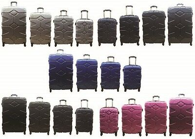 "20"" 24"" 28"" 32"" Hard Shell Suitcase Luggage Case Trolley Cabin 4 Wheel Spinner"