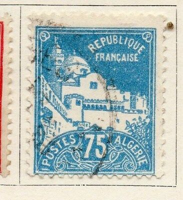 Algeria 1929-30 Early Issue Fine Used 75c. 096497