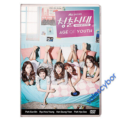 Age of Youth Korean Drama (3 DVD) Excellent English & Quality.