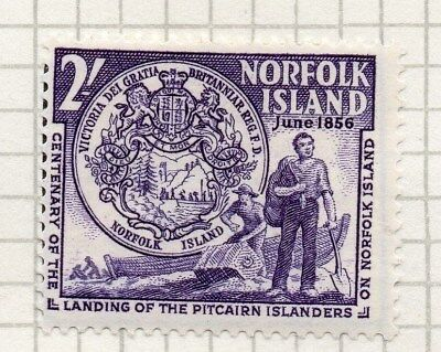 Norfolk Island 1956 Early Issue Fine Mint Hinged 2S. 096295