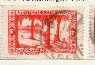 Algeria 1936 Early Issue Fine Used 15c. 096474