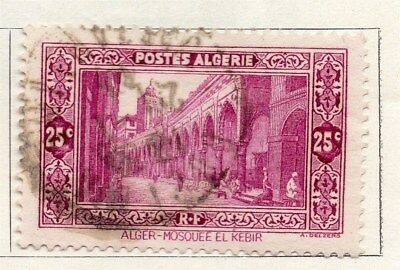 Algeria 1936 Early Issue Fine Used 25c. 096475