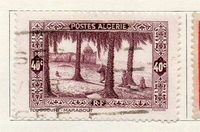 Algeria 1936 Early Issue Fine Used 40c. 096476