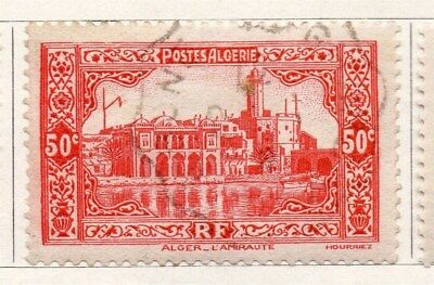 Algeria 1936 Early Issue Fine Used 50c. 096477