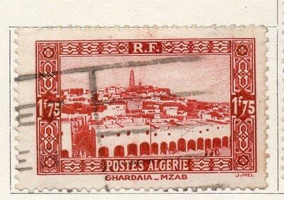 Algeria 1936 Early Issue Fine Used 1F.75c. 096480