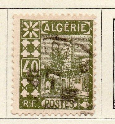 Algeria 1926-27 Early Issue Fine Used 40c. 096485