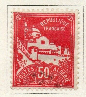 Algeria 1929-30 Early Issue Fine Used 50c. 096496