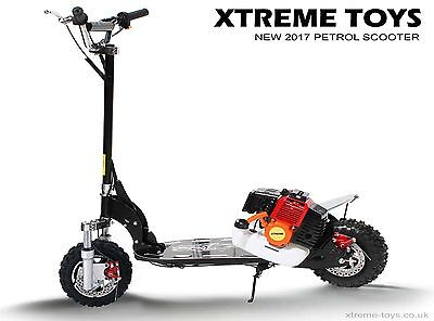 Xtreme 50cc Petrol Scooter - Childs Kids Adults Ride on Motoboard - New 2017