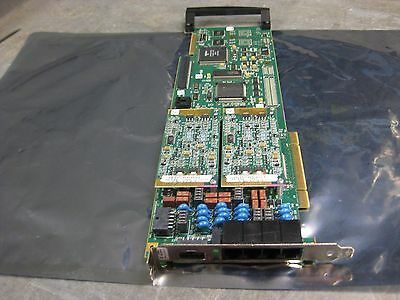 NMS Natural MicroSystems AG2000 2 x 5491 Modules 5570 5593 PCI card