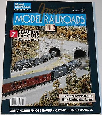 Great Model Railroads 1992 Magazine Historical Modeling on the Berkshire Lines