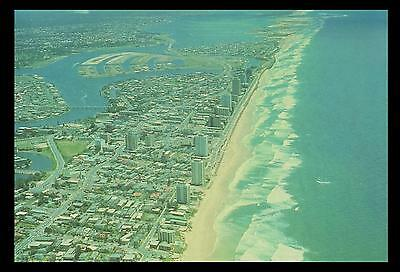 SURFERS PARADISE CANALS & ISLANDS POSTCARD Australia Post 1976 PRE-PAID 18c MINT