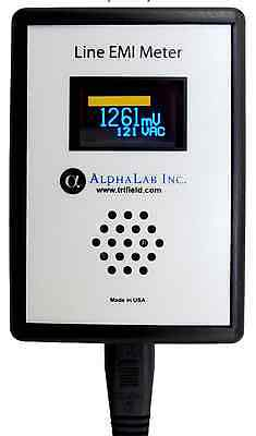 Alphalab Power Line Meter