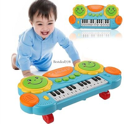 New Baby Kids Musical Educational Smile Piano Developmental Music Toy Gift