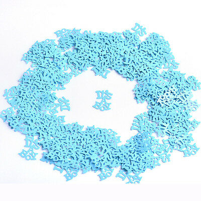 Table Scatter Throwing Confettis It's a Boy/Girl Baby Shower Party Decorations