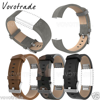 Fashion Sports Genuine leather Bracelet Strap Band   Film For Fitbit Charge 2