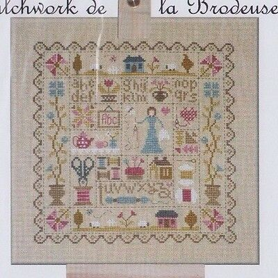 Patchwork de la Brodeuse - cross stitch chart - Jardin Prive