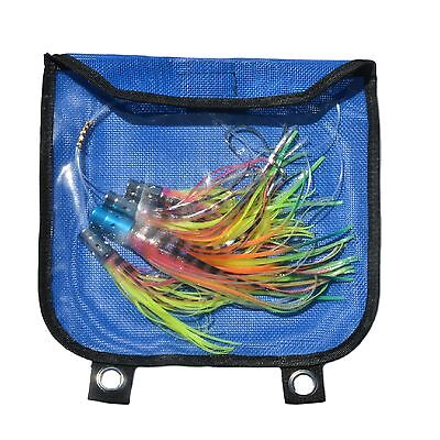 Marlin Sailfish Daisy Chain Teaser BIG GAME Trolling Lures Rigged Jet Rig HEavy