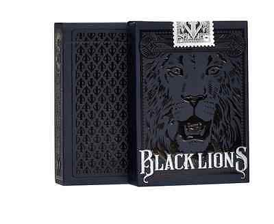 Black Lions Playing Cards // DAVID BLAINE