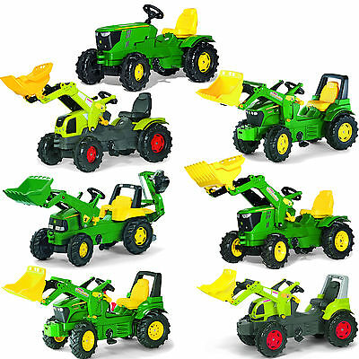Kids Tractor Rolly Toys tractor Farmtrac John Deere Claas Choose 1 St from