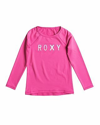 NEW ROXY™  Kids Classic Long Sleeve Rash Vest Girls Surf