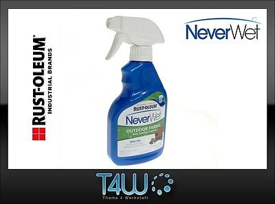 RUST-OLEUM NeverWet OUTDOOR FABRIC Imprägnierungs Spray 325ml