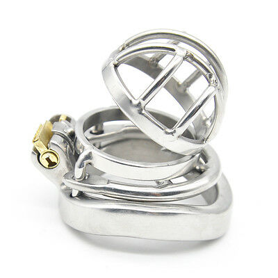 Stainless Steel Super Small Male Chastity Device Metal Chastity Belt A273-1