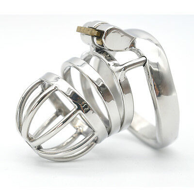 Male Chastity Device Stainless steel Chastity Belt Lock Latest Design A275