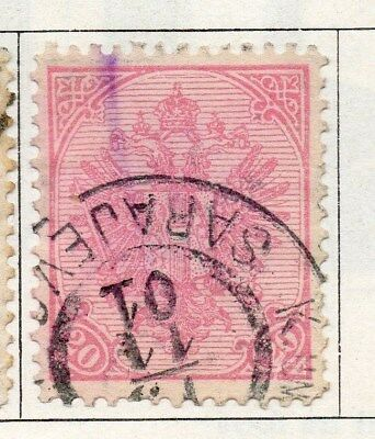 Bosnia Herzegovina 1900 Early Issue Fine Used 20nov. 096575