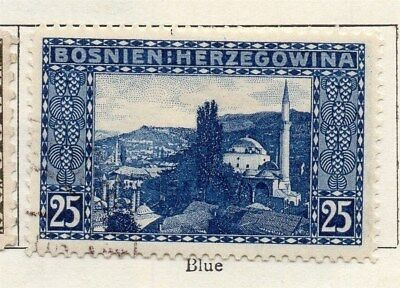 Bosnia Herzegovina 1906 Early Issue Fine Used 25h. 096583