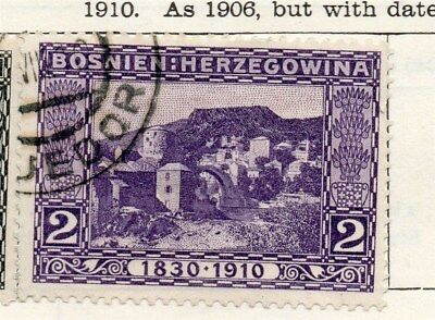 Bosnia Herzegovina 1910 Early Issue Fine Used 2h. 096590