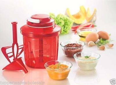 Tupperware Extra Chef 1.35L Red, Round