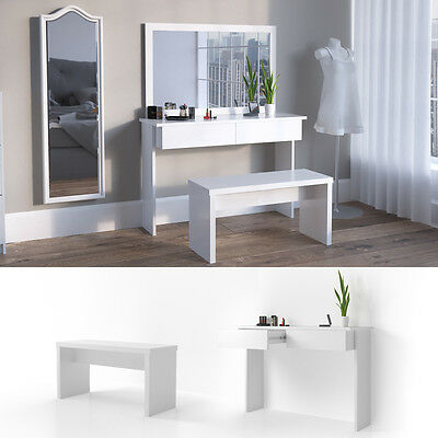 meuble de maquillage commode coiffeuse table blanc avec morior tiroir vanit eur 109 90. Black Bedroom Furniture Sets. Home Design Ideas