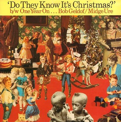"""Band Aid(12"""" Vinyl)Do They Know It's Christmas / One Year On-Mercury-FE-Ex/VG"""