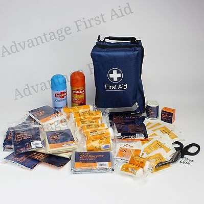 Comprehensive Sports First Aid Kit Touchline Bag Physio Team Football Rugby