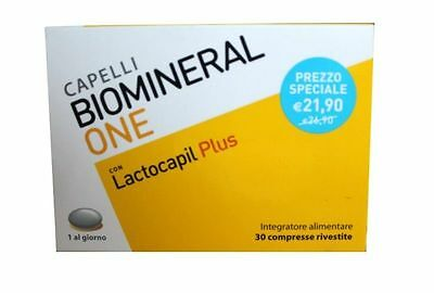 Biomineral One Con Lactocapil Plus 30 Compresse Cpr Capelli OFFERTA ! ©