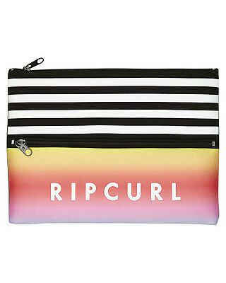 New Rip Curl Double Neo Combined Pencil Case Neoprene Gifts