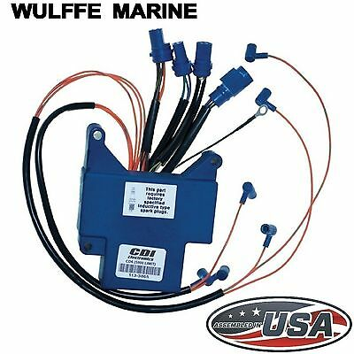Power Pack CD Unit for Johnson Evinrude 150-175 Hp CDI 113-3865 Replaces 583865