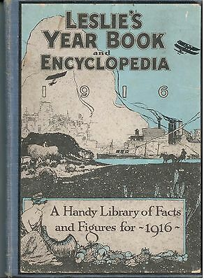 Leslie's Year Book and Encyclopedia – New York 1915 - Panama Pacific PPIE