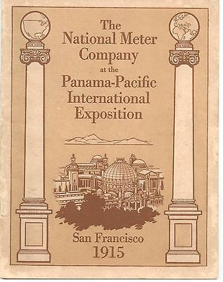 The National Meter Company at the Panama-Pacific Int'l Expo- PPIE 1915 Brochure