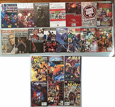 Lot of 20 Marvel Promo and Giveaway Comics - Spider-Man, X-Men, Avengers & More