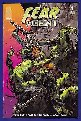 Fear Agent #1  Image 2005 1st Print Rick Remender Tony Moore