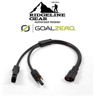 Goal Zero MC4 Solar to AP Anderson Pole Power Adapter Cable