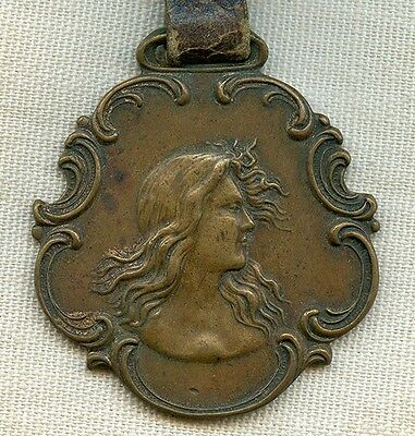 Very Rare Circa 1900 Coca-Cola Advertising Watch Fob