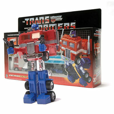 Re-issue Transformers G1 Optimus Prime Toy Figure Collection SET MISB Brand New