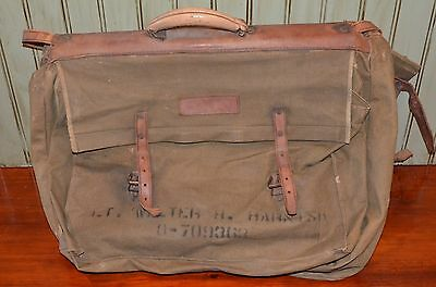 Us Wwii U.s. Army Air Forces Pilot Flight Uniforms Suit Garment Bag Luggage Ww2