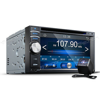 """Double 2 DIN 6.2"""" in dash car  Stereo DVD Player Touch Screen RDS FM Radio S USB"""