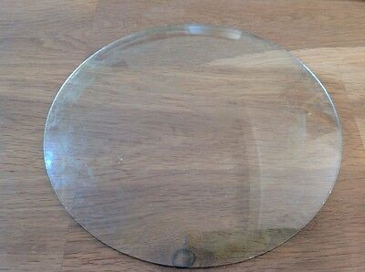 Vintage Clock Glass Round Convex 177mm