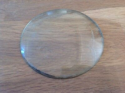 Vintage Clock Glass Round Convex 111mm
